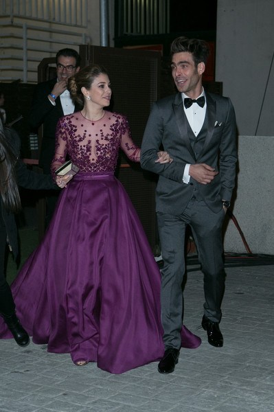 Blanca suarez photos photos goya cinema awards 2015 for Blanca romero y jon kortajarena