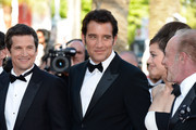 (L-R) Guillaume Canet, Clive Owen, Marion Cotillard, and James Caan attend the 'Blood Ties' Premiere during the 66th Annual Cannes Film Festival at the Palais des Festivals on May 20, 2013 in Cannes, France.