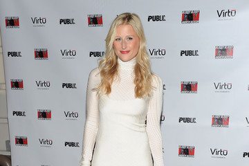 "Mamie Gummer ""Bloody Bloody Andrew Jackson"" Opening Night - Arrivals & Curtain Call"