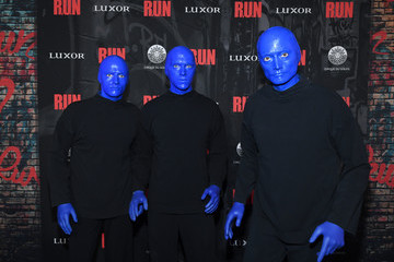 """Blue Man Group Grand Opening Night For """"R.U.N - The First Live Action Thriller"""" Presented By Cirque du Soleil"""