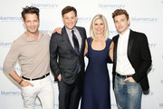 (L-R) Nate Berkus, Barry Beck, Marla Beck, and Jeremiah Brent attend the Bluemercury 20th Anniversary Event on June 11, 2019 in New York City.