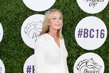 Bo Derek 2016 Breeders' Cup World Championships at Santa Anita Park