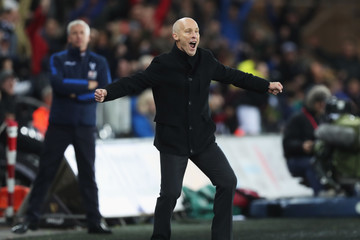 Bob Bradley Swansea City v Crystal Palace - Premier League