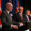 Bob Carr Australia-United Kingdom Ministerial Meetings Underway In Perth