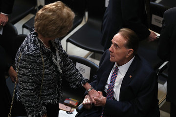 Bob Dole U.S. Congress Holds a Memorial Ceremony for Former Rep. Bob Michel
