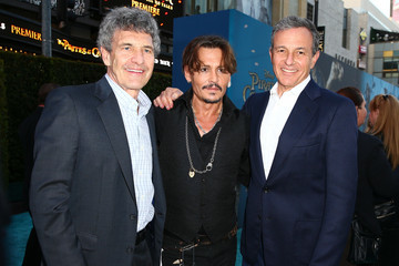 Bob Iger Premiere of Disney's 'Pirates of the Caribbean: Dead Men Tell No Tales' - Red Carpet
