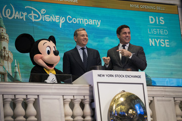 Bob Iger Walt Disney Chairman and CEO Bob Iger Rings Opening Bell at NY Stock Exchange