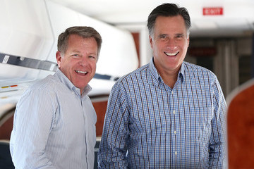 Bob White Presidential Candidate Mitt Romney Spends Day In Boston Before Embarking On Multi Day Bus Tour