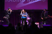 Charles Kelley, Hillary Scott and Dave Haywood of the band Lady Antebellum perform at the Bobby Bones And The Raging Idiots 4th Annual Million Dollar Show at the Ryman Auditorium on January 14, 2019 in Nashville, Tennessee.