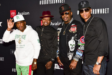 Bobby Brown Ronnie DeVoe BET And Toyota Present The Premiere Screening Of 'The Bobby Brown Story' - Red Carpet
