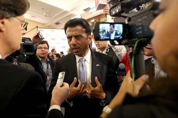Bobby Jindal GOP Presidential Candidates Debate in Milwaukee