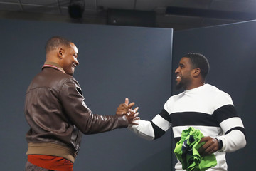 Bobby Wagner Will Smith and Director Ang Lee visit Microsoft for the Outside-In Fireside Chat