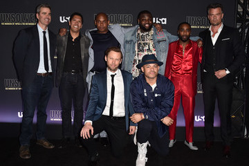 Bokeem Woodbine Jimmi Simpson Premiere Of USA Network's 'Unsolved: The Murders Of Tupac And The Notorious B.I.G.' - Arrivals