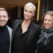 Charlize Theron and Emily Lenzner