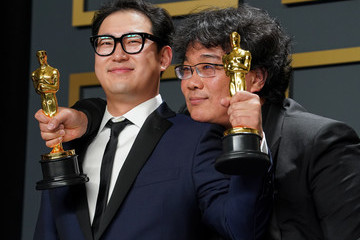 Bong Joon Ho 92nd Annual Academy Awards - Press Room