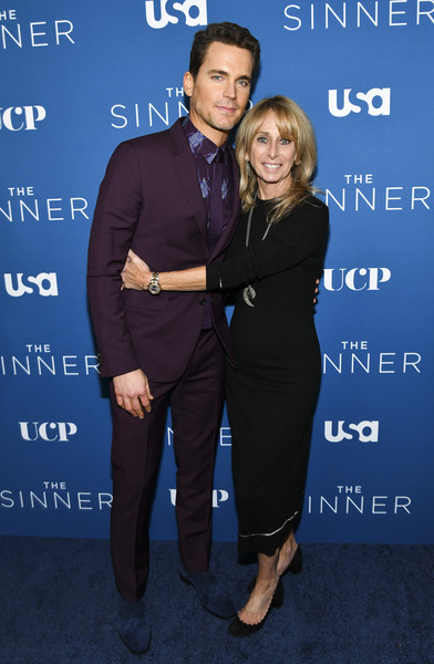 "Premiere Of USA Network's ""The Sinner"" Season 3 - Red Carpet [red carpet,the sinner,premiere,suit,event,electric blue,formal wear,white-collar worker,bonnie hammer,matt bomer,l-r,the london west hollywood,california,usa network,premiere,season,bonnie hammer,matt bomer,stock photography,madagascar 3: europes most wanted,image,united states,photograph,getty images]"