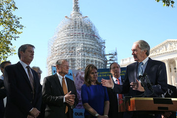 Bonnie Lautenberg Senate Democrats Hold News Conference Urging Passage of Lautenberg Act
