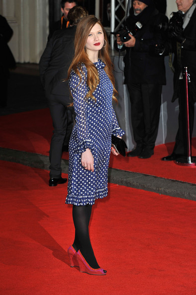 Bonnie Wright - Orange British Academy Film Awards 2012 - Outside Arrivals