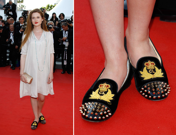 Bonnie Wright - Sassy Shoes