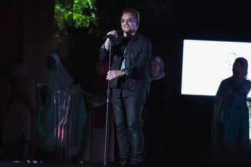 Bono 2015 Global Citizen Festival in Central Park to End Extreme Poverty By 2030 - Show
