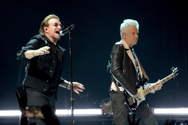 U2 Performs At The Forum