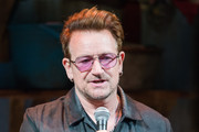 Bono Visits 'Eclipsed' to Launch a Dedications Series in Honor of Abducted Chibok Girls of Northern Nigeria