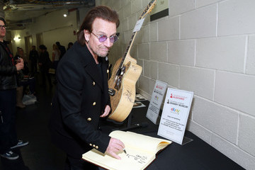 Bono 60th Annual GRAMMY Awards - GRAMMY Charities Signings - Day 3