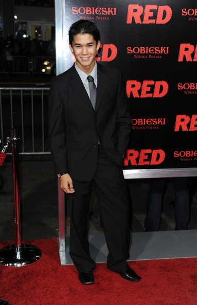 Boo Boo Stewart Actor BooBoo Stewart arrives at a special screening of Summit Entertainment's 'RED' at Grauman's Chinese Theatre on October 11, 2010 in Hollywood, California.
