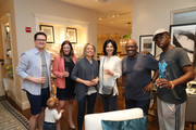 "(L-R) Kourtney Sokmen, Dylan Dreyer, Deborah Kosofsky, Al Roker and Nicholas Albert Roker attend ""Siriously Delicious"" by Siri Daly book launch event at Williams Sonoma Columbus Circle on April 14, 2018 in New York City."