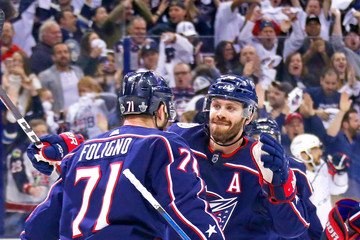 Boone Jenner Washington Capitals Vs. Columbus Blue Jackets - Game Six