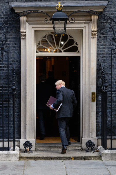 European Best Pictures Of The Day - September 22 [best pictures of the day,statement,standing,door,architecture,suit,house,window,street,building,boris johnson,cases,spread coronavirus,steps,britain,european,house of commons,cabinet meeting,10 downing street,downing street,prime minister,conservative party,government of the united kingdom,prime minister of the united kingdom,official residence,larry,boris johnson]