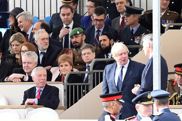 Boris Johnson Jeremy Corbyn Dedication and Unveiling of the Iraq and Afghanistan Memorial