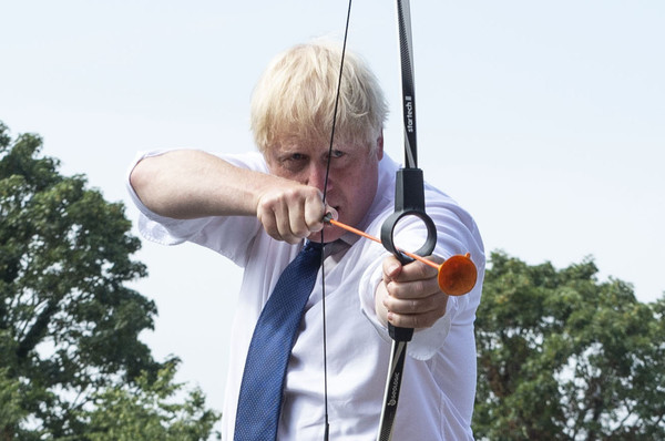 News Pictures of The Week - August 13 [the week,news pictures,archery,longbow,ky\u016bd\u014d,recreation,arrow,bow and arrow,shooting sport,boris johnson,prime minister,part,archery,equipment,british,schools,conservative party,boris johnson,conservative party,prime minister of the united kingdom,united kingdom,prime minister,2019 conservative party leadership election,jeremy corbyn,jeremy hunt]