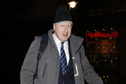 Boris Johnson Is Seen at the Ivy