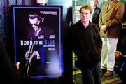 "ActorEllar Coltrane  attends the ""Born To Be Blue"" New York Screening at Blue Note Jazz Club on March 24, 2016 in New York City."