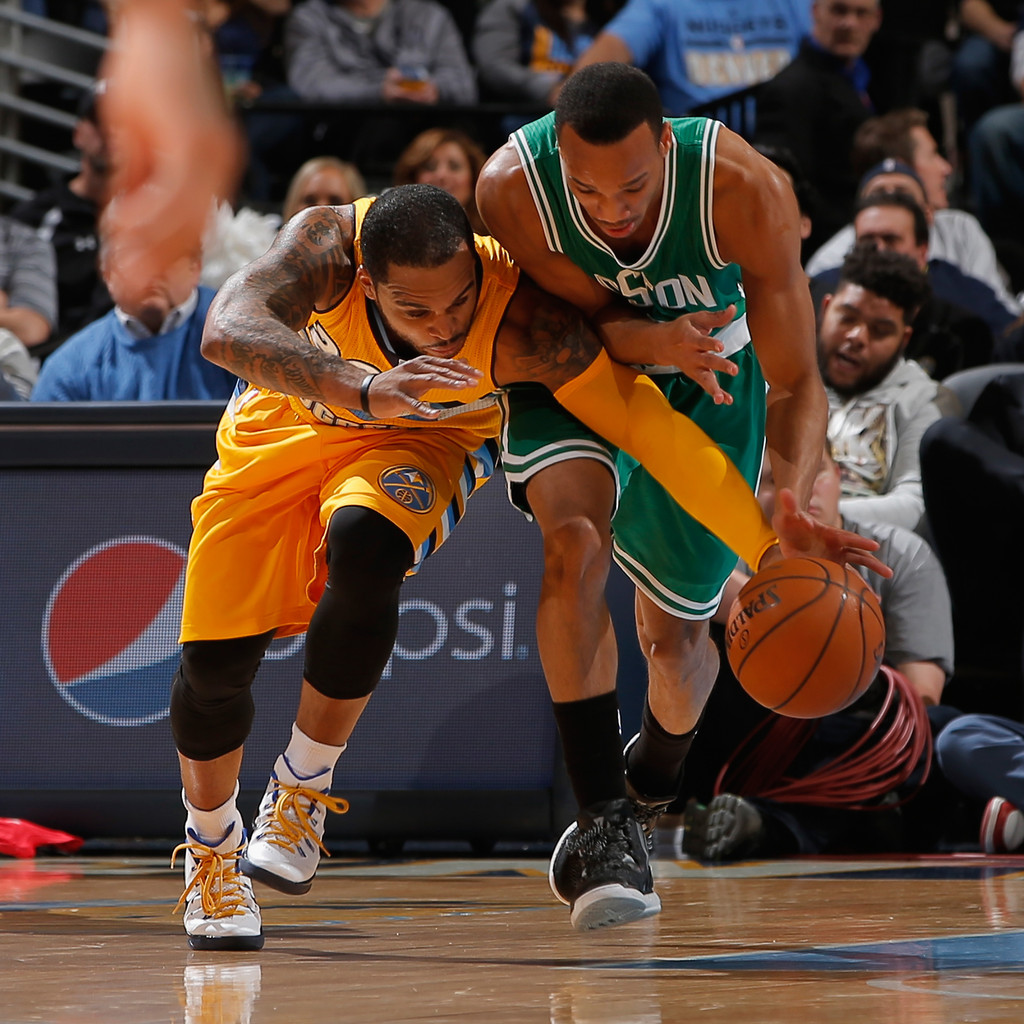 Jameer Nelson In Boston Celtics V Denver Nuggets