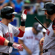 Daniel Nava and Will Middlebrooks Photos