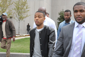 Bow Wow Arrivals at Chris Brown's Trial in Washington, DC