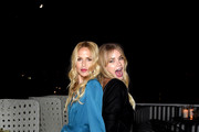 (L-R) Rachel Zoe and Tori Praver attend the Box of Style By Rachel Zoe Female Founders Dinner at The AllBright West Hollywood on October 03, 2019 in West Hollywood, California.