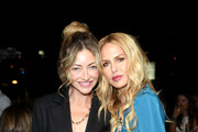 (L-R) Rebecca Gayheart and Rachel Zoe attend the Box of Style By Rachel Zoe Female Founders Dinner at The AllBright West Hollywood on October 03, 2019 in West Hollywood, California.