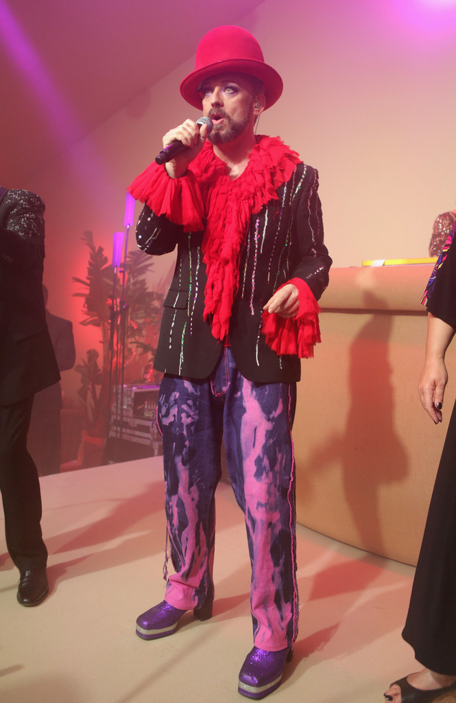 Boy George - Celebs at the Worldview Entertainment Cannes Celebration