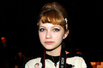 Tavi Gevinson Boy And Girl By Band Of Outsiders - Front Row - Fall 2012 Mercedes-Benz Fashion Week