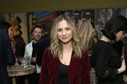 """Vanessa Ray attends """"The Boy Who Harnessed The Wind"""" Special Screening hosted by Angelina Jolie at Crosby Street Hotel on February 25, 2019 in New York City."""