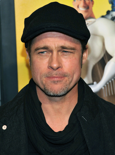 "Brad Pitt Actor Brad Pitt attends the New York premiere of ""Megamind"" at AMC"