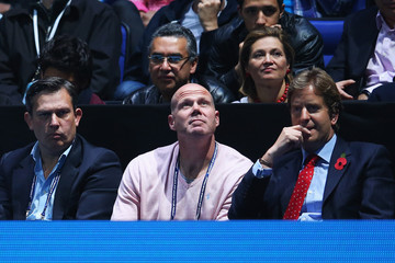 Brad Friedel Barclays ATP World Tour Finals: Day 1