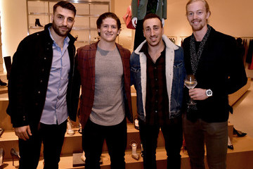 Brad Marchand Barneys New York Celebrates The Cam Neely Foundation