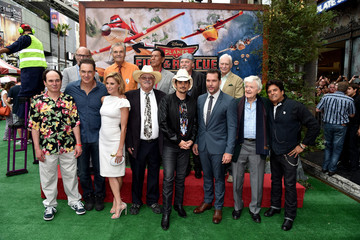 Brad Paisley Dane Cook 'Planes: Fire & Rescue' Premieres in Hollywood
