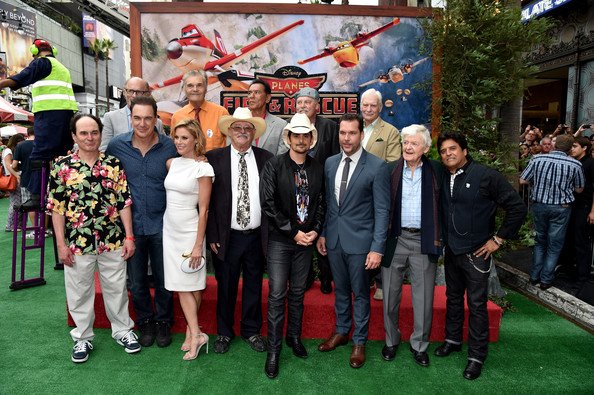 'Planes: Fire & Rescue' Premieres in Hollywood