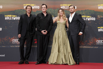Brad Pitt Leonardo DiCaprio 'Once Upon A Time... In Hollywood' Premiere In Berlin