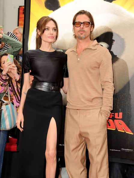 """Premiere Of DreamWorks Animation's """"Kung Fu Panda 2"""" - Red Carpet in Hollywood, CA [kung fu panda 2,flooring,fashion,carpet,event,red carpet,product,vision care,premiere,girl,angelina jolie,brad pitt,los angeles,chinese theatre,dreamworks animation,red carpet,l,premiere,premiere]"""